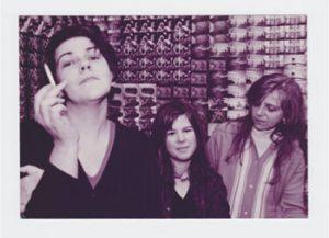 Britta - Die Band in der Gründungsbesetzung: Christiane Rösinger, Julie Miess, Britta Neander